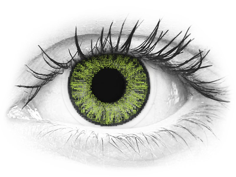 TopVue Color - Fresh Green - nedioptrické denné (10šošoviek) - TopVue Color - Fresh Green - nedioptrické denné (10šošoviek)