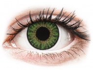 Kontaktné šošovky lacno - TopVue Color - Green - dioptrické denné (10šošoviek)