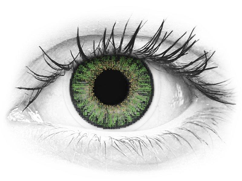 TopVue Color - Green - nedioptrické denné (10šošoviek) - TopVue Color - Green - nedioptrické denné (10šošoviek)