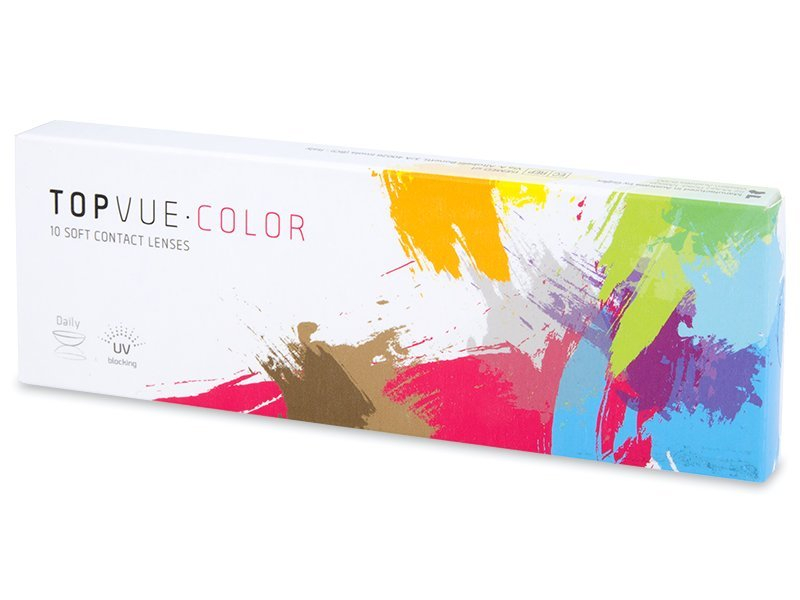 TopVue Color - Soft Grey - nedioptrické denné (10šošoviek) - TopVue Color - Soft Grey - nedioptrické denné (10šošoviek)