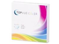 TopVue Color - Turquoise - dioptrické (2 šošovky) - Starší vzhľad