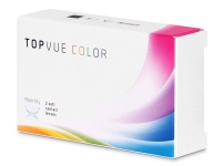 TopVue Color - Turquoise - dioptrické (2 šošovky)