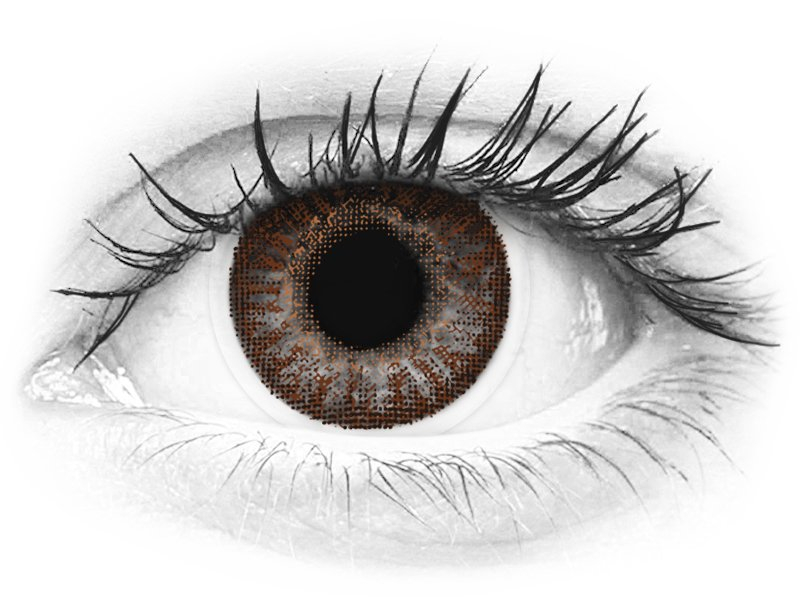 TopVue Color - Brown - nedioptrické (2 šošovky) - TopVue Color - Brown - nedioptrické (2 šošovky)