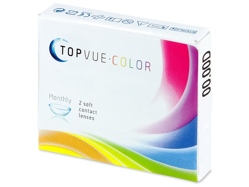 TopVue Color - Grey - nedioptrické (2 šošovky) - Starší vzhľad