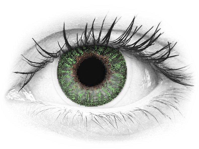 TopVue Color - Green - nedioptrické (2 šošovky) - TopVue Color - Green - nedioptrické (2 šošovky)