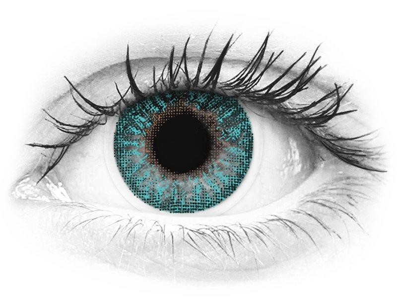 TopVue Color - Turquoise - nedioptrické (2 šošovky) - TopVue Color - Turquoise - nedioptrické (2 šošovky)