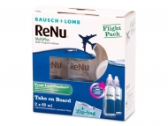 Roztoky Renu MultiPlus - Roztok ReNu Multiplus Flight pack 2 x 60 ml