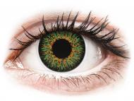 Kontaktné šošovky Maxvue Vision - ColourVUE Glamour Green - dioptrické (2šošovky)