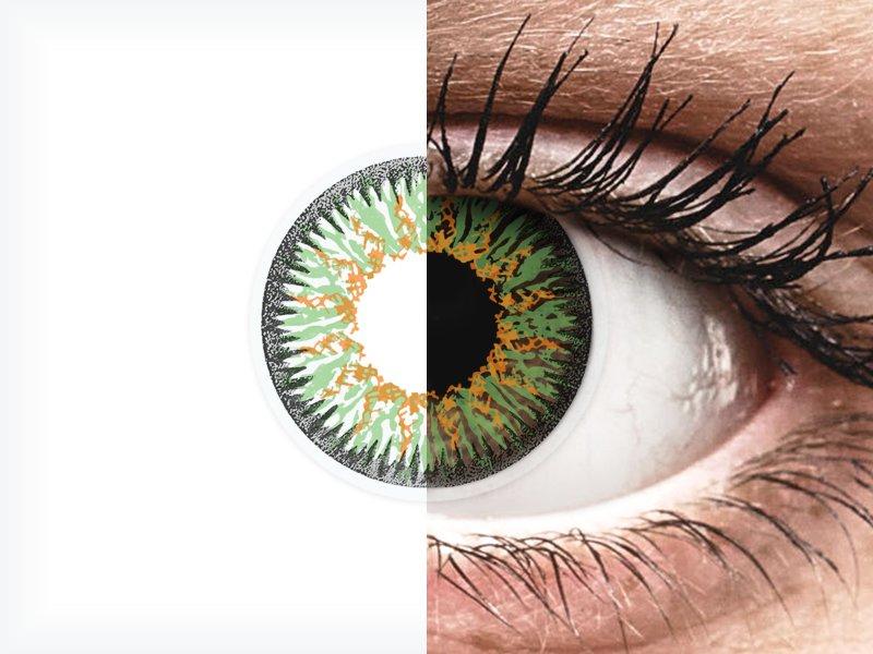 ColourVUE Glamour Green - nedioptrické (2šošovky) - ColourVUE Glamour Green - nedioptrické (2šošovky)