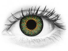 ColourVUE Glamour Green - nedioptrické (2šošovky)