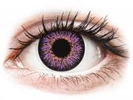Kontaktné šošovky Maxvue Vision - ColourVUE Glamour Violet - nedioptrické (2šošovky)