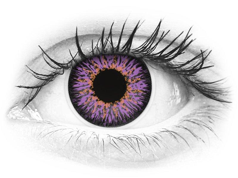 ColourVUE Glamour Violet - nedioptrické (2šošovky) - ColourVUE Glamour Violet - nedioptrické (2šošovky)