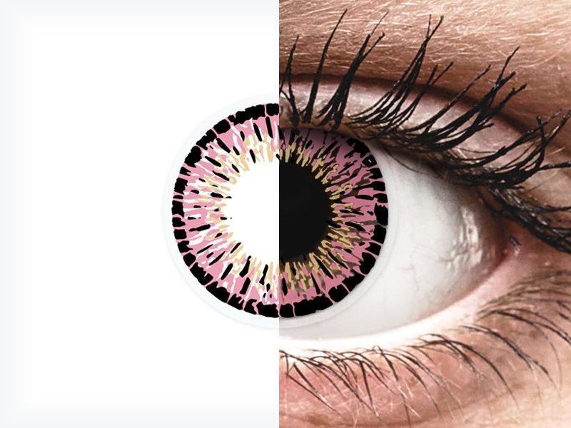 ColourVUE Elegance Pink - nedioptrické (2šošovky) - ColourVUE Elegance Pink - nedioptrické (2šošovky)