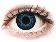 Kontaktné šošovky Maxvue Vision - ColourVUE Eyelush Blue - nedioptrické (2šošovky)