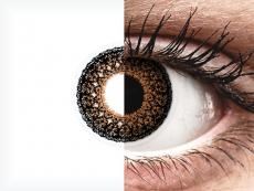 ColourVUE Eyelush Brown - nedioptrické (2šošovky)