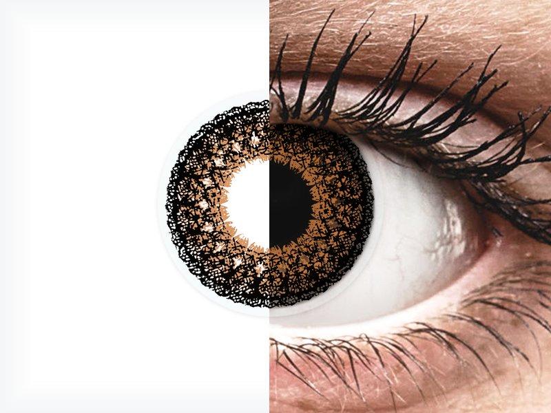 ColourVUE Eyelush Brown - nedioptrické (2šošovky) - ColourVUE Eyelush Brown - nedioptrické (2šošovky)