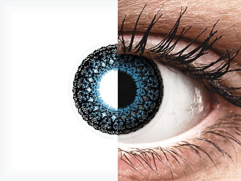 ColourVUE Eyelush Blue - dioptrické (2šošovky) - ColourVUE Eyelush Blue - dioptrické (2šošovky)