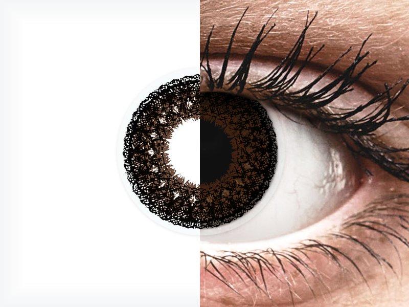 ColourVUE Eyelush Choco - dioptrické (2šošovky) - ColourVUE Eyelush Choco - dioptrické (2šošovky)
