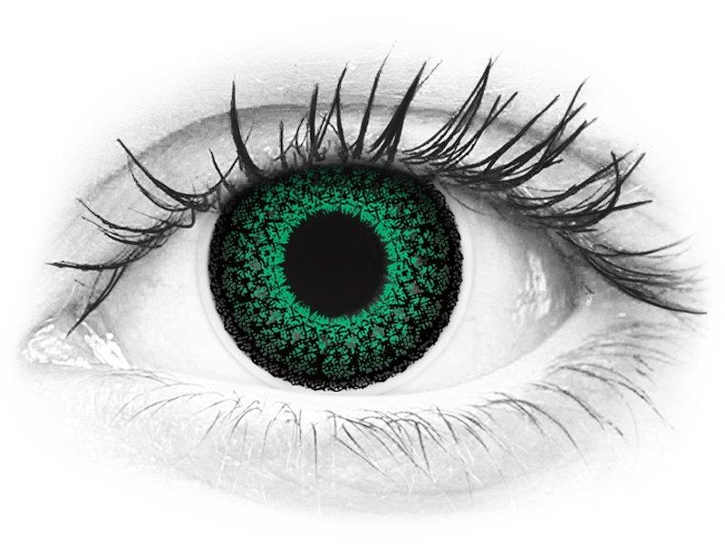 ColourVUE Eyelush Green - dioptrické (2šošovky) - ColourVUE Eyelush Green - dioptrické (2šošovky)