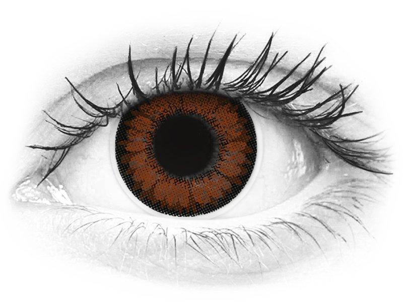 ColourVUE BigEyes Pretty Hazel - nedioptrické (2šošovky) - ColourVUE BigEyes Pretty Hazel - nedioptrické (2šošovky)