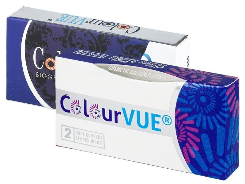 ColourVUE BigEyes Cool Blue - nedioptrické (2šošovky) - ColourVUE BigEyes Cool Blue - nedioptrické (2šošovky)