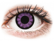 Kontaktné šošovky Maxvue Vision - ColourVUE BigEyes Ultra Violet - nedioptrické (2šošovky)