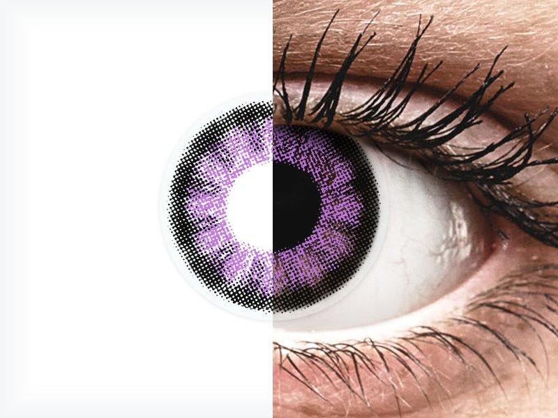 ColourVUE BigEyes Ultra Violet - nedioptrické (2šošovky) - ColourVUE BigEyes Ultra Violet - nedioptrické (2šošovky)