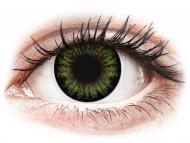 Kontaktné šošovky Maxvue Vision - ColourVUE BigEyes Party Green - nedioptrické (2šošovky)