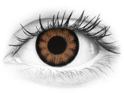 ColourVUE BigEyes Sexy Brown - dioptrické (2šošovky)