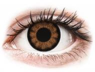 Kontaktné šošovky Maxvue Vision - ColourVUE BigEyes Sexy Brown - nedioptrické (2šošovky)