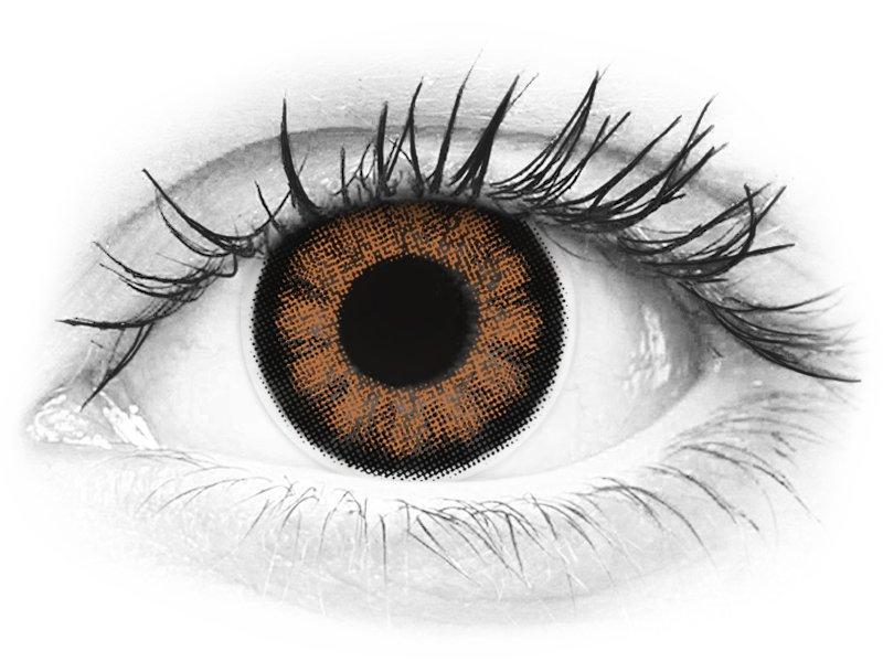 ColourVUE BigEyes Sexy Brown - nedioptrické (2šošovky) - ColourVUE BigEyes Sexy Brown - nedioptrické (2šošovky)