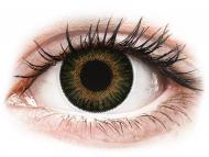 Zelené kontaktné šošovky - dioptrické - ColourVUE 3 Tones Green - dioptrické (2šošovky)