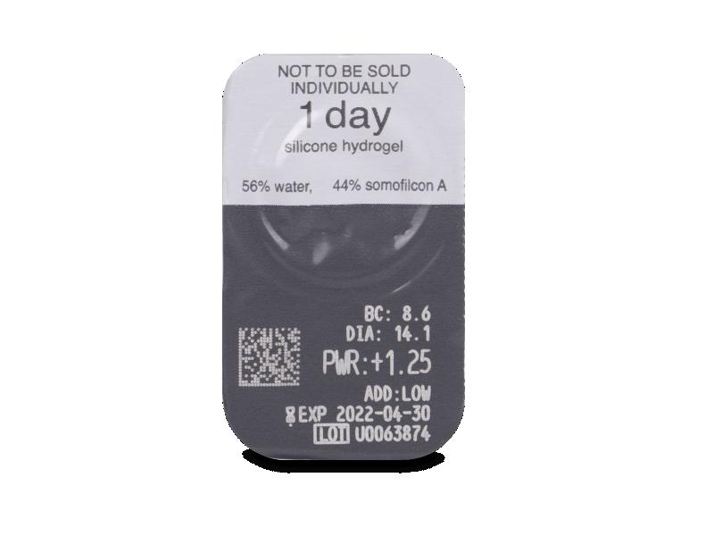 Clariti 1 day Multifocal (30 šošoviek) - Vzhľad blistra so šošovkou