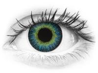 ColourVUE Fusion Yellow Blue - nedioptrické (2šošovky)
