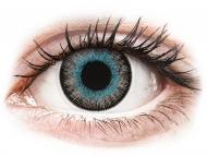 Modré kontaktné šošovky - nedioptrické - ColourVUE Fusion Blue Gray - nedioptrické (2šošovky)