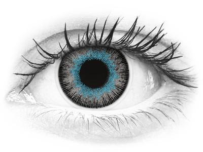 ColourVUE Fusion Blue Gray - nedioptrické (2šošovky)