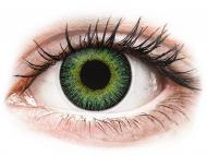 Kontaktné šošovky Maxvue Vision - ColourVUE Fusion Green Yellow - nedioptrické (2šošovky)