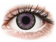 Kontaktné šošovky Maxvue Vision - ColourVUE Fusion Violet Gray - nedioptrické (2šošovky)