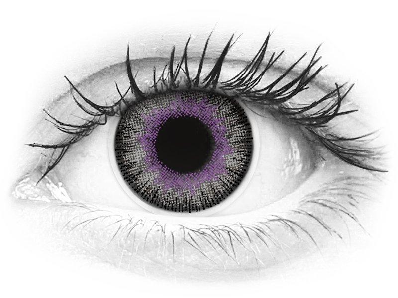 ColourVUE Fusion Violet Gray - nedioptrické (2šošovky) - ColourVUE Fusion Violet Gray - nedioptrické (2šošovky)