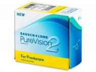 Mesačné kontaktné šošovky - PureVision 2 for Presbyopia (6šošoviek)