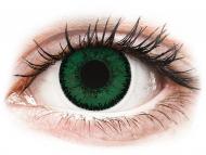 Mesačné kontaktné šošovky - SofLens Natural Colors Aquamarine - nedioptrické (2 šošovky)