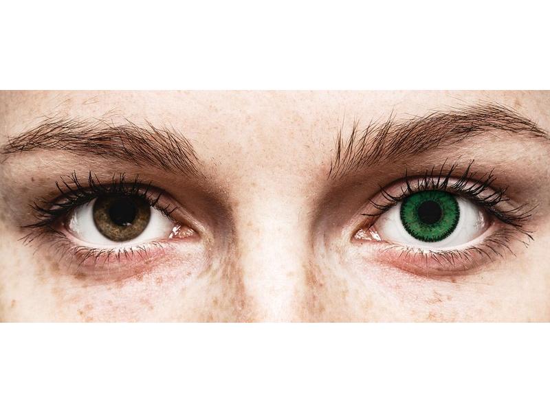 SofLens Natural Colors Emerald - nedioptrické (2 šošovky) - SofLens Natural Colors Emerald - nedioptrické (2 šošovky)