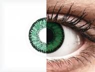 SofLens Natural Colors Emerald - nedioptrické (2 šošovky)
