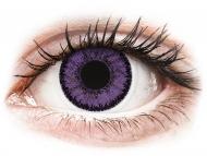 Mesačné kontaktné šošovky - SofLens Natural Colors Indigo - dioptrické (2 šošovky)