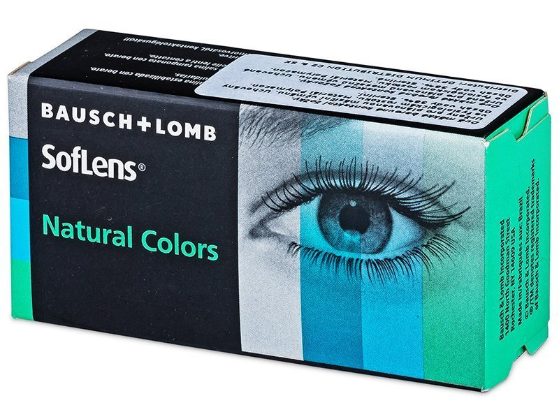 SofLens Natural Colors Indigo - dioptrické (2 šošovky) - SofLens Natural Colors Indigo - dioptrické (2 šošovky)