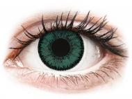Mesačné kontaktné šošovky - SofLens Natural Colors Jade - dioptrické (2 šošovky)
