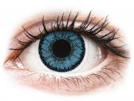 Mesačné kontaktné šošovky - SofLens Natural Colors Pacific - dioptrické (2 šošovky)