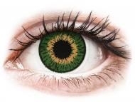 Mesačné kontaktné šošovky - Expressions Colors Green - nedioptrické (1 šošovka)