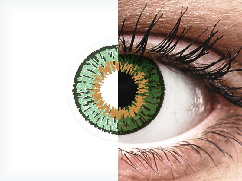 Expressions Colors Green - dioptrické (1 šošovka) - Expressions Colors Green - dioptrické (1 šošovka)