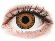Mesačné kontaktné šošovky - Expressions Colors Hazel - nedioptrické (1 šošovka)